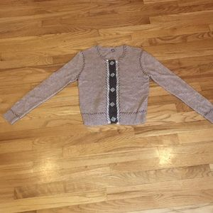 One Girl Who Anthropologie Vintage Sweater Sz S